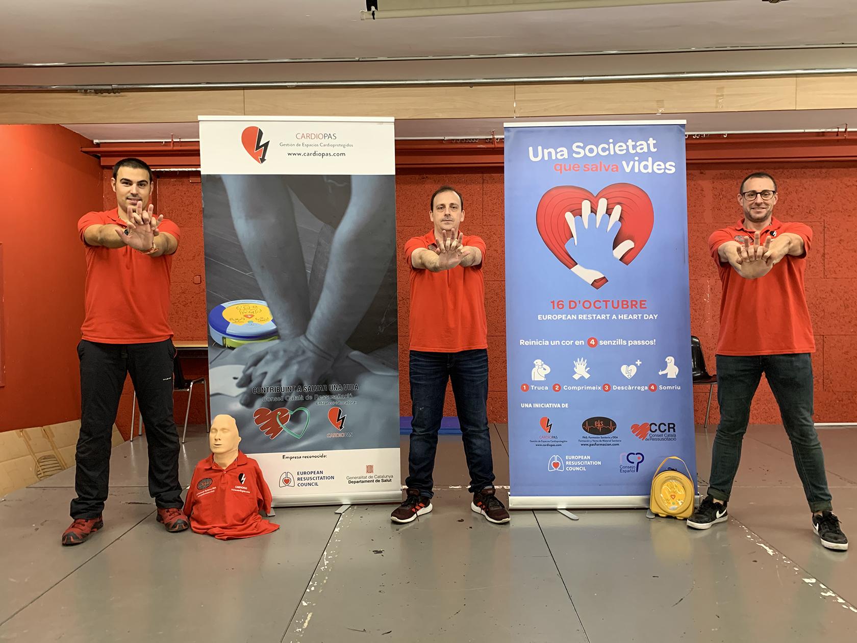 El passat 16 d'octubre es va celebrar el Dia Mundial de la Conscienciació de l'Aturada Cardíaca i CardioPAS, Gestió d'Espais Cardioprotegits, com any rere any, ens vam sumar als actes… READ MORE